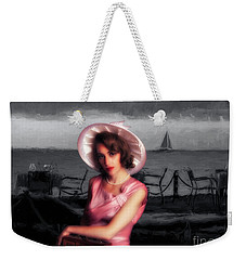 Weekender Tote Bag featuring the photograph Bygone  ... by Chuck Caramella