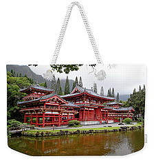 Byodo-in Temple Oahu Weekender Tote Bag