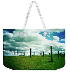 Byxbee Pole Field Weekender Tote Bag