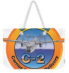 C-2 Greyhound Weekender Tote Bag