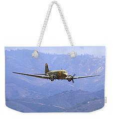 C-47 Gooney Bird At Salinas Weekender Tote Bag