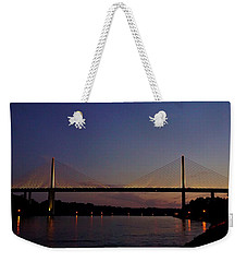 C And D Canal Bridge Weekender Tote Bag by Ed Sweeney