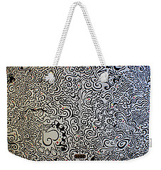 C And D Table Weekender Tote Bag