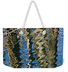 C And O Abstract Weekender Tote Bag
