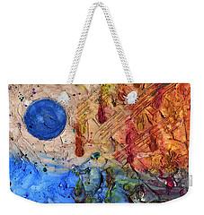 C Moon Weekender Tote Bag