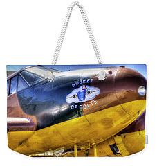 C45 Nose Art Weekender Tote Bag