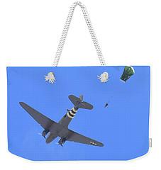 C47 And Paratroopers At Salinas Weekender Tote Bag