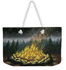 Campfire 01 Weekender Tote Bag