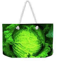 Cabbage 02 Weekender Tote Bag by Wally Hampton