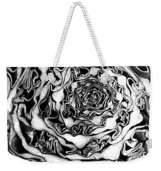 Cabbage Fractal Photograph Weekender Tote Bag