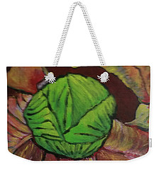 Cabbage Weekender Tote Bag