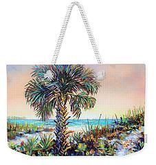 Cabbage Palm On Siesta Key Beach Weekender Tote Bag