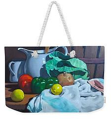Cabbage3 Weekender Tote Bag