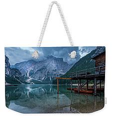 Cabin By The Lake Weekender Tote Bag