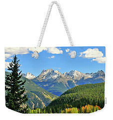 Cabin In The San Juans Weekender Tote Bag by Scott Mahon