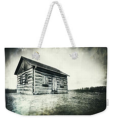 Weekender Tote Bag featuring the photograph Cabin Near Paradise Springs - Kettle Moraine State Forest by Jennifer Rondinelli Reilly - Fine Art Photography