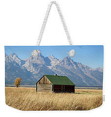 Cabin With A View Weekender Tote Bag by Shirley Mitchell