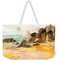 Cabo San Lucas Weekender Tote Bag by Larry Hamilton