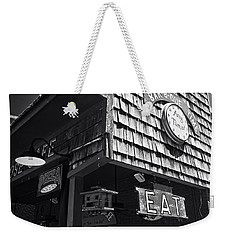 Bar B Que Caboose Cafe Weekender Tote Bag