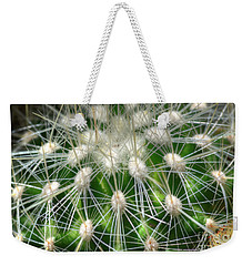 Weekender Tote Bag featuring the photograph Cactus 1 by Jim and Emily Bush