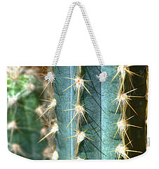 Weekender Tote Bag featuring the photograph Cactus 3 by Jim and Emily Bush