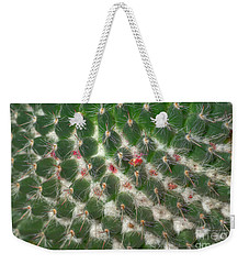 Weekender Tote Bag featuring the photograph Cactus 5 by Jim and Emily Bush