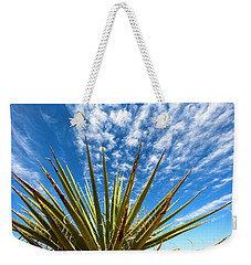Cactus And Blue Sky Weekender Tote Bag