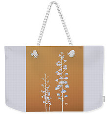 Weekender Tote Bag featuring the photograph Cactus Architectre by Linda Hollis
