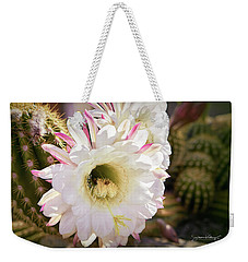 Cactus Bloom 2 Weekender Tote Bag