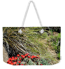 Crimson Barrel Cactus Weekender Tote Bag