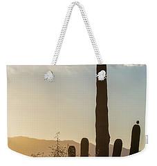 Weekender Tote Bag featuring the photograph Cactus Dancing by Dan McManus