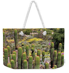 Cactus Field In San Diego Weekender Tote Bag