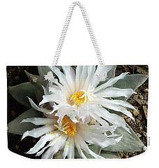 Cactus Flower 7 Weekender Tote Bag