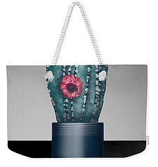 Cactus In Bloom I  Weekender Tote Bag