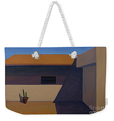 Cactus In Summer Heat Weekender Tote Bag