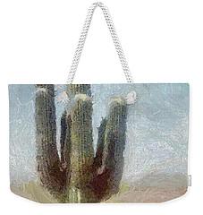 Cactus Weekender Tote Bag by Jeff Kolker