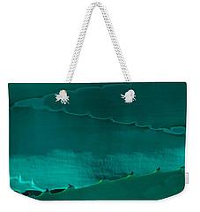 Cactus Leaf Abstract Weekender Tote Bag