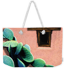 Weekender Tote Bag featuring the photograph Cactus by Paul Wear