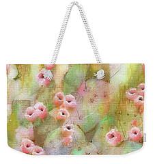 Cactus Rose Weekender Tote Bag