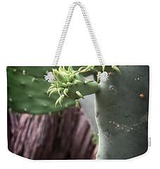 Cactus Spring - Macro Plants #3470 Weekender Tote Bag by Ella Kaye Dickey