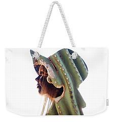Cactus Suit Of Armor Weekender Tote Bag