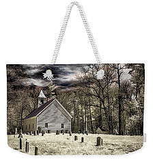 Cades Cove Church Weekender Tote Bag