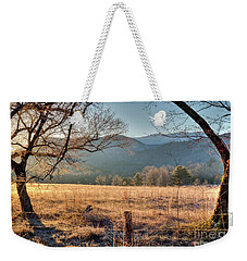 Weekender Tote Bag featuring the photograph Cades Cove, Spring 2017 by Douglas Stucky