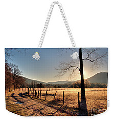 Weekender Tote Bag featuring the photograph Cades Cove, Spring 2017,i by Douglas Stucky