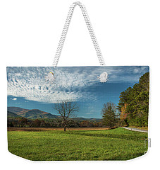 Cades Cove Tennessee Weekender Tote Bag by Lena Auxier