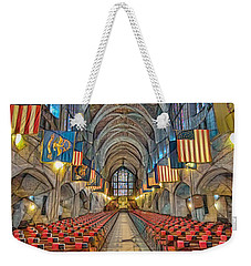 Weekender Tote Bag featuring the photograph Cadet Chapel Remix by Dan McManus
