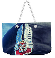Cadillac Weekender Tote Bag by Caitlyn Grasso