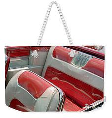 Cadillac El Dorado 1958 Seats. Miami Weekender Tote Bag