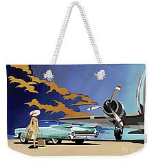 Cadillac Eldorado 1959 Weekender Tote Bag by Sassan Filsoof