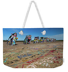 Cadillac Graffiti Weekender Tote Bag